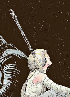 This is beautiful and I'm not even into Reylo ❤ #starwars