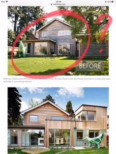 House Renovations, Home Remodeling, Exterior Design, Interior And Exterior, House Flips, Exterior Makeover, Exterior Remodel, Batcave, House Extensions