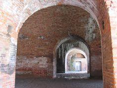 Fort Morgan near Orange Beach, Alabama