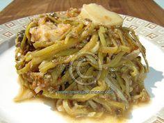 Fassolakia Moraïtika – Peloponnesian Braised Green Beans (Φασολάκια Μοραΐτικα)