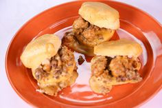 Sausage Gravy Biscuits Kirstie Alley