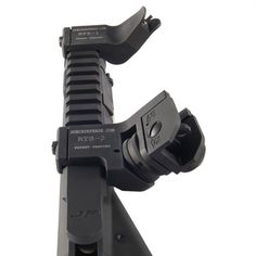 offset sights for easy, use of iron sights with a scope. ($230)