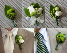Blumenbrosche Hochzeit im Frühjahr – Sollen Sie eine grüne Hochzeit haben