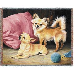 """Artwork by world renowned animal artist, Robert May. 70"""" width x 54"""" length Jacquard woven 100% cotton art tapestry. Not a print. Fringed. Made in the USA. Special Delivery/Handling: If not in stock,"""
