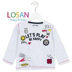8e1e5b069 Comprar Camiseta de niño LOSAN manga larga parches