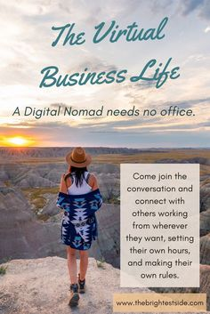A Digital Nomad needs no office. Come join the conversation and connect with others working from wherever they want, setting their own hours, and making their own rules. Home Based Business, Online Business, Midlife Career Change, Digital Nomad, Blog Writing Tips, Skills To Learn, Branding Your Business, Online Entrepreneur, Entry Level