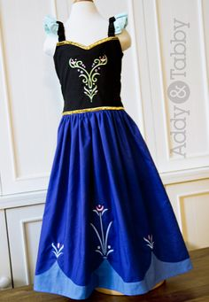 Anna Frozen, dressup Everyday Princess girls boutique dress / costume Guess which of my kids wants this.
