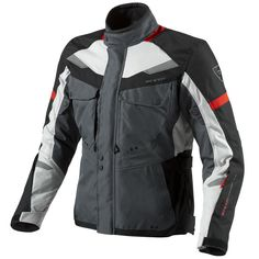 Rev'It Safari Motorcycle Jacket  Description: The Rev It Safari Touring Motorbike Jackets are packed       with features…              PROTECTION FEATURES:               OUTER SHELL                      Polyester 600D – Polyester fabric is a mainstay of REV'IT!         garments, providing the stylish silhouette...  http://bikesdirect.org.uk/revit-safari-motorcycle-jacket-3/