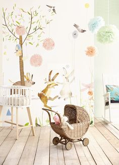 Wallpower Junior Lief! #babykamer #nursery | Eijffinger