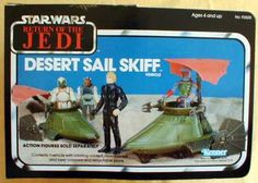 Desert Sail Skiff Vehicle - Star Wars Collectors Archive