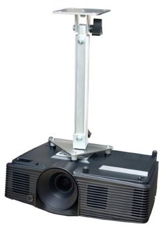 Projector Ceiling Mount for ViewSonic PJD7828HDL PJD7831HDL PJD7836HDL Pro7827HD, Silver