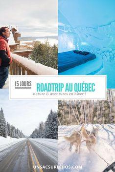 Le Canada en hiver : une exp�rience immersive dans la nature en Grand et en blanc ! Voici notre itin�raire de roadtrip au Qu�bec, �  travers Montr�al, Qu�bec, les r�gions Saguenay – Lac-Saint-Jean, Mauricie, Laurentides et Lanaudi�re.