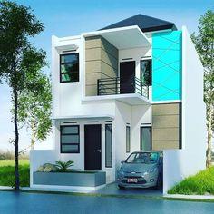 Desain Rumah Minimalis Type 36 2 Lantai Terbaru