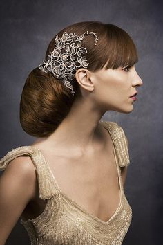 Wedding day Hair- Dramatic updo's inspiration 1 :  wedding hair inspiration up do upstyles wedding hair white Wedding Travel Singapore