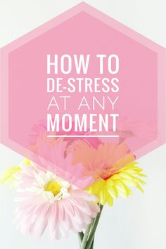 Are you feeling stressed most of the time? This post reminded me to take time for myself and de-stress! You can read it now or pin it for later ♡