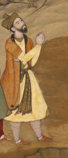 Khan-e-Kalan Shamsu'd-Din Muhammad Khan Atgah Khan Shamshuddin Muhammad was the son of Mir yar Muhammed of Ghazni. Shamshuddin started his life as a soldier in Kamran Mirza's army and once saved. Agra Fort, Last Emperor, Mughal Empire, Father Figure, Portrait Art, Islamic Art, Miniatures, Indian, History