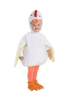 That is one cute chick! Toddler Halloween costumes are cute and cuddly fun. This cheeky chicken Halloween costume for kids is an adorable way to get your tot . Toddler Chicken Costume, Chicken Costumes, Toddler Halloween Costumes, Baby Costumes, Halloween Outfits, Halloween Kids, Halloween Party, Pirate Costumes, Holiday Outfits