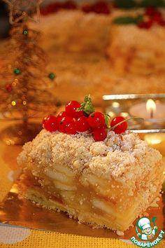 Венский яблочный пирог по рецепту К. Шумахера - кулинарный рецепт