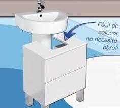 baño con lavabo de pedestal - Buscar con Google