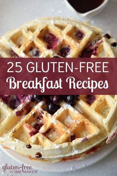 These gluten-free breakfast ideas include recipes for common breakfast foods… free appetizers free bread free breakfast free cookies free food free for beginners free lunch free meals free snacks to go gluten free Easy Gluten Free Desserts, Gluten Free Appetizers, Gluten Free Recipes For Breakfast, Gluten Free Breakfasts, Foods With Gluten, Gluten Free Baking, Gluten Free Drinks, Wheat Free Recipes, Pizza Recipes