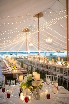 Inspiración para bodas con carpas al aire libre