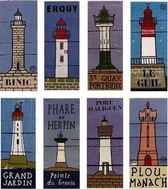 Le blog de MHAD: Les Phares de MHAD Safe Haven, Pallet Art, Seaside, Nautical, Illustration Art, Painting, Blog, Gauche, Inspiration