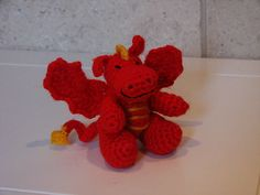 Ravelry: Red Dragon Toy (Chinese New Year 2012) pattern by HappyBerry- free crochet pattern
