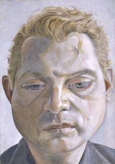 Portrait of Francis Bacon by Lucien Freud. Stolen from Neue Nationalgalerie in Berlin 27 May 1988 - never recovered or seen since. Francis Bacon, Bridget Riley, Marcel Duchamp, Henry Moore, David Hockney, Rembrandt, Andy Warhol, Lucian Freud Portraits, Social Art