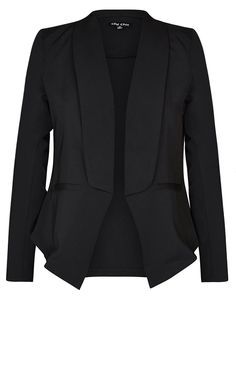 City Chic - COOL BLAZER JACKET - Women's Plus Size Fashion