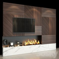 3d models: TV Wall - TV Wall set 51 Wall Units With Fireplace, Fireplace Feature Wall, Tv Feature Wall, Feature Wall Design, Tv Wall Decor, Wall Tv, Ensemble Mural Tv, Lcd Wall Design, Interior Cladding