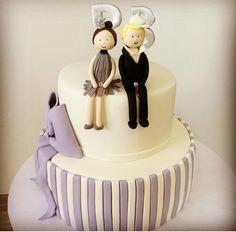 #ourengagement #cake #lovely #celebration #happy