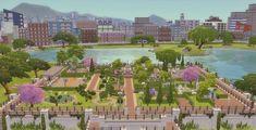 Via Sims: Downtown Park • Sims 4 Downloads