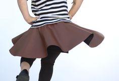 kolová sukně - rychlý návod