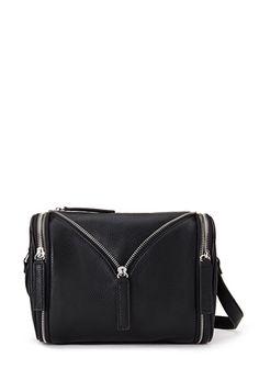 Zippered Crossbody Bag | Forever 21 - 1055878191