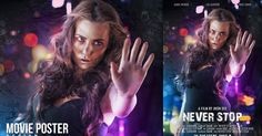 In this tutorial I will go to show you how to create a movie poster with bokeh and light effects in Photoshop.