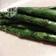 Recipe photo: Parmesan roast asparagus