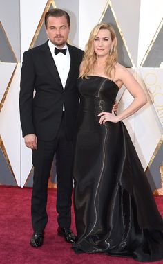 Leonardo DiCaprio and Kate Winslet Are Together Again on the Oscars 2016 Red Carpet and, Just Like That, They Win! Kate Winslet, Leonardo Dicaprio, 2016 Oscars, Academy Awards