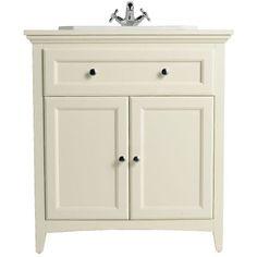 Savoy Old English White 790 basin unit - with 1 tap hole basin Bathroom Sink Units, Loft Bathroom, Bathroom Basin, Glass Bathroom, Small Bathroom, Bathrooms, Bathroom Ideas, Cloakroom Ideas, Bathroom Inspo