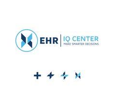 EHR | IQ CENTER Portfolio Logo, Logos, Logo