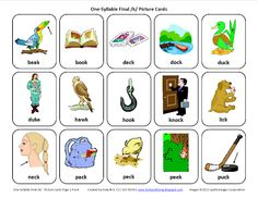 Testy yet trying: Final K: Free Speech Therapy Articulation Picture Cards