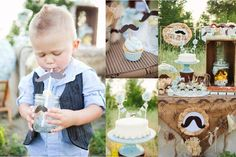 Mustache + Little Man birthday party via Kara's Party Ideas! www.KarasPartyIdeas.com