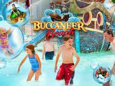 Great Escape- Buccaneer Beach- New this year! Lake George, NY