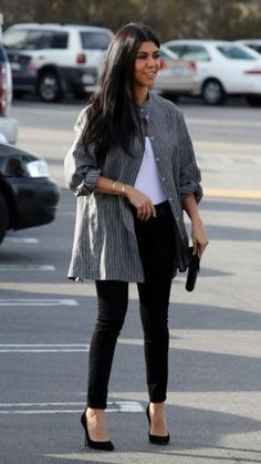 top jeans shirt pumps bodysuit spring spring outfits fall outfits shoes kourtney kardashian