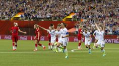 WNT Downs World No. 1 Germany 2-0 to Advance to 2015 World Cup Final - U.S. Soccer