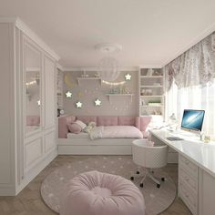 Teenage Girls Bedroom Ideas is part of Dream rooms - Every young girl dreams of a uniquely personal space to call her own, yet nailing down a durable search for a teenage girl's bedroom can be a particularly troublesome undertaking Cute Bedroom Ideas, Cute Room Decor, Awesome Bedrooms, Bedroom Themes, Cool Rooms, Trendy Bedroom, Bedroom Design For Teen Girls, Girls Bed Room Ideas, Teen Bedroom Colors