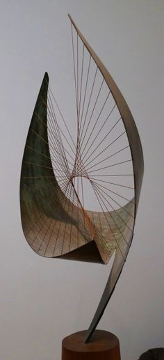 "netlex: "" Orpheus - Barbara Hepworth More Barbara Hepworth here. Art Sculpture, Abstract Sculpture, Bronze Sculpture, Abstract Art, Metal Sculptures, Muebles Estilo Art Nouveau, Bijoux Design, Barbara Hepworth, Wow Art"