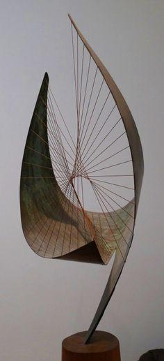 "netlex: "" Orpheus - Barbara Hepworth More Barbara Hepworth here. Art Sculpture, Abstract Sculpture, Abstract Art, Metal Sculptures, Bronze Sculpture, Muebles Estilo Art Nouveau, Modern Art, Contemporary Art, Contemporary Sculpture"