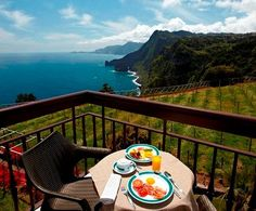 Hotel Quinta do Furão, Santana, Madeira, Portugal. North of the island. View from one of the rooms.
