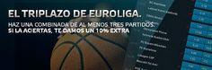 el forero jrvm y todos los bonos de deportes: suertia bono 50 euros extra si aciertas euroliga 1...