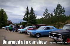 A look at a car show from a new perspective. Read more: http://www.mystarcollectorcar.com/2-features/editorials/2716-unarmed-at-a-car-showno-camera-no-notebook-lots-of-fun.html